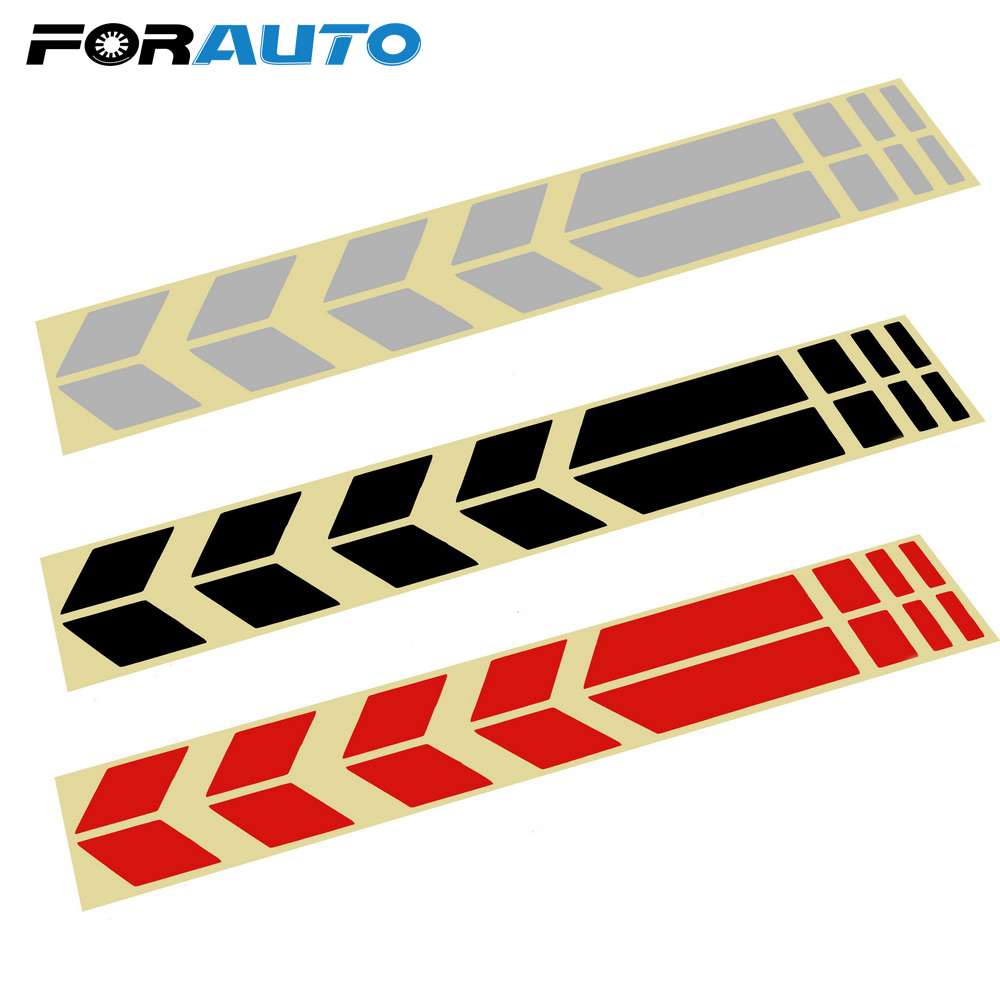 Car Motorcycle Reflective Sticker Moto Stickers and Decals Sticker On Bike Bicycle Fender Motorcycle Accessories Decoration