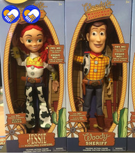 Toy Story 43cm 3 Talking Woody Action Figures Model Toys Children Christmas Gift Free Shipping action figure nobox