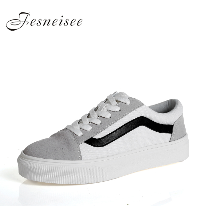2018 Spring New Fashion Designer Flats Genuine leather Women Vulcanize White Sneakers Women Shoes Casual Female Shoes Size40 P6