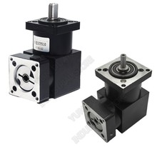 24 :1 Right Angled Planetary Speed Reducer Gearbox 90 degree Angle Reversing Corner 8mm 6mm input for NEMA23 57mm Stepper Motor купить недорого в Москве