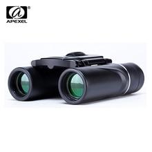 APEXEL Mini 8×21 Zoom Binocular Long Range 3000m Folding HD Powerful Telescope BAK4 FMC Optics Hunting Sports Camping Hiking