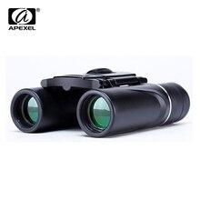 APEXEL Mini 8x21 Zoom Binocular Long Range 3000m Folding HD Powerful
