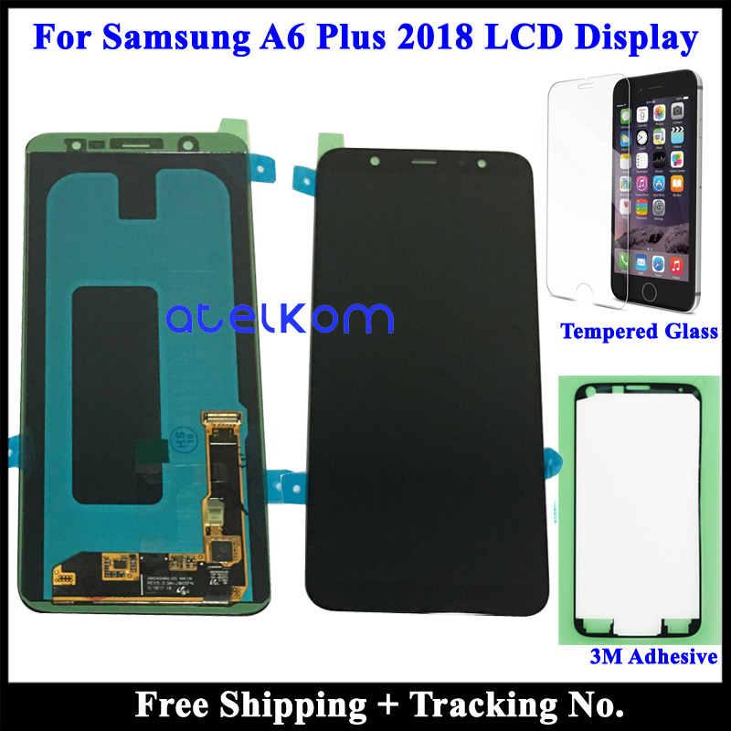 tested Super AMOLED LCD Display For SAMSUNG A6 Plus 2018 LCD for Samsung A6 Plus 2018