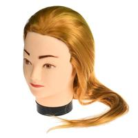 Nieuwe Vrouwelijke Dummy Hoofd Lange Haar Kappers Training Head Model Oktober 28