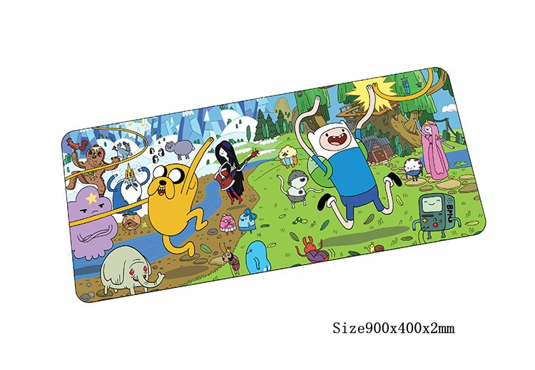 Adventure Time mouse pad Popular pad to mouse notbook computer mousepad big gaming padmouse gamer to laptop keyboard mouse mats