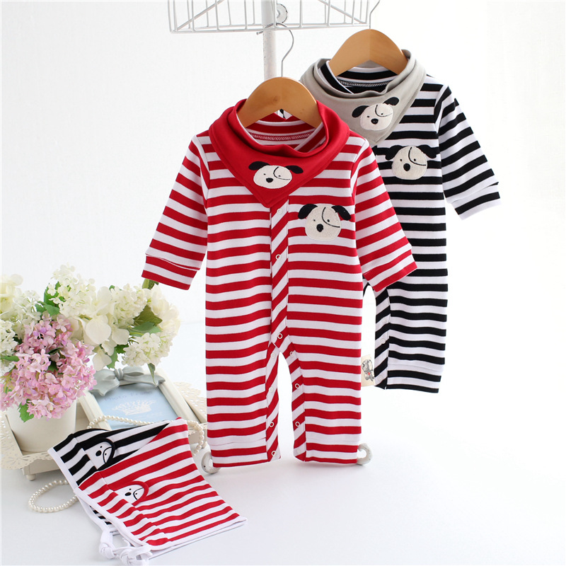 Free Shipping Mother Nest Baby Romper Girl Boy Clothing Set For Newborn Jumpsuits And Rompers Baby Pajamas 2PCS/lot JL167173702  free shipping new 2017 spring autumn baby clothing infant set gift baby jumpsuits newborn romper 4pcs set 2pcs romper hat bib
