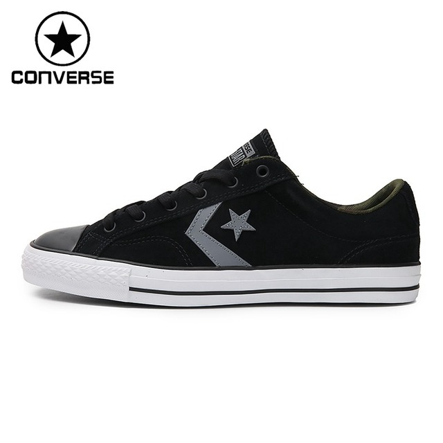 Original New Arrival 2018 Converse Star Player Men s Skateboarding Shoes  Canvas Sneakers 9b8d2d0dd