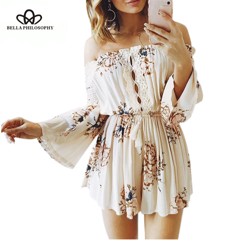 Summer Baby Girl Strap Hollow Ethnic Knit Romper Sleeveless Lace Jumpsuit Outfit
