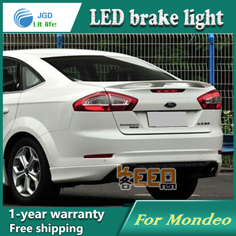 Car Styling Rear Bumper LED Brake Lights Warning Lights case For Ford Mondeo 2011 2012 Accessories Good Quality car styling rear bumper led brake lights warning lights case for mazda atenza accessories good quality