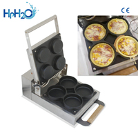 Commercial Non stick Mirror stainless steel mini pizza oven machine with waffle maker pizza oven maker Pizza Making Machine