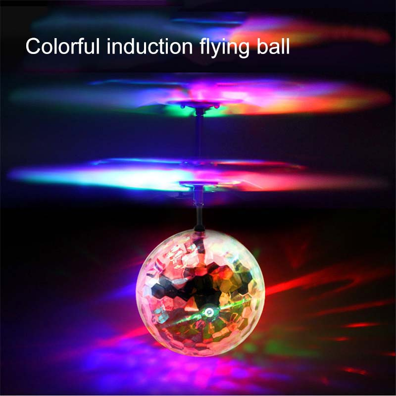 Luminous toy Flying RC Ball fly balls LED Light Aircraft Helicopter Induction LED lanterns Toys Best Gift Drone Drop Shipping in Light Up Toys from Toys Hobbies