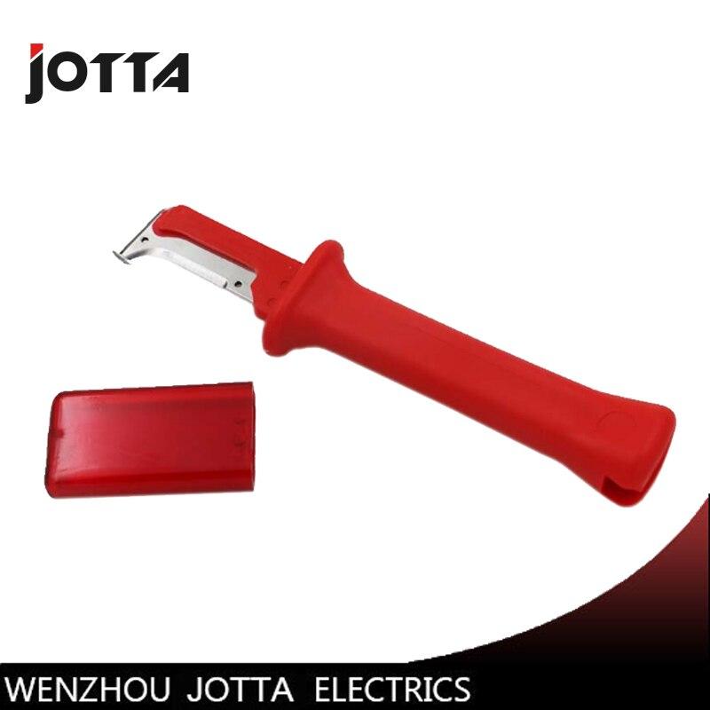 Isolation couteau à dépecer 31HS Allemand type d'isolation électricien couteau à dépecer manuel couteau à dépecer isolation fil patineuse