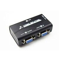 Colohas 1 2 Out VGA Splitter Kutusu 1920X1440 HD Çözünürlük Video Uzatma HUB Bilgisayar TV