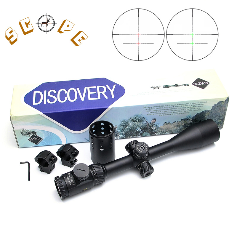 DISCOVERY VT-2 4.5-18X44 SFIR Tactical Optics Riflescope Mil-dot Illuminated With Side Focus Hunting Scope жаровня scovo сд 013 discovery