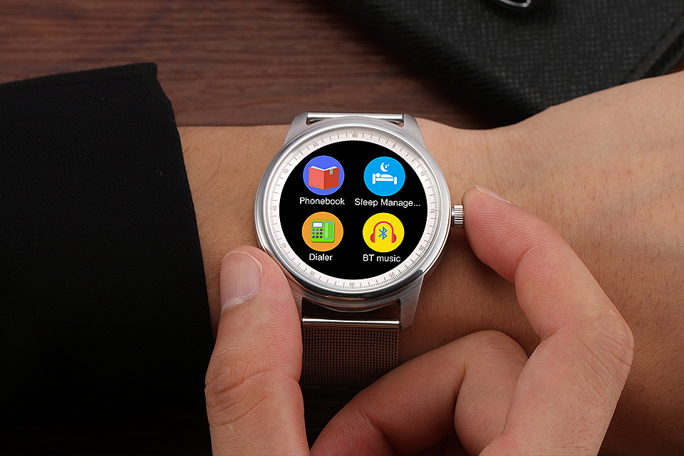 Buy LEMFO LEM1 Smart Watch Pedometer Sycn Phone Call Message Remote