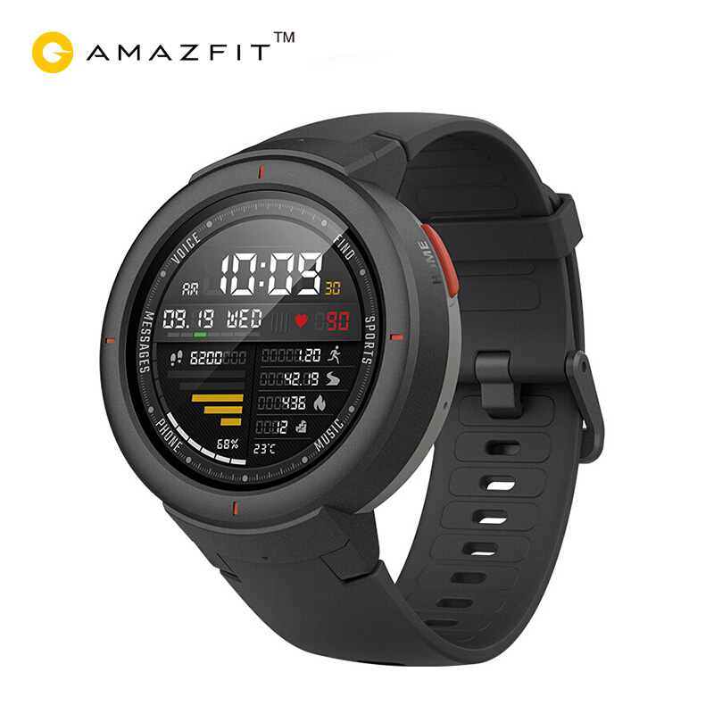 Xiaomi  Amazfit Verge English Version Smartwatch 1.3-inch AMOLED Screen Dial & Answer Calls Upgraded HR Sensor GPS Smart watchXiaomi  Amazfit Verge English Version Smartwatch 1.3-inch AMOLED Screen Dial & Answer Calls Upgraded HR Sensor GPS Smart watch