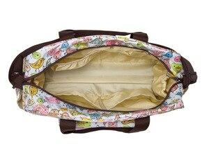 Image 4 - Mommore 5 pièces/ensemble Nappy sacs comprend sac à langer matelas à langer sac de maternité momie transparent sac de poussette bébé étanche