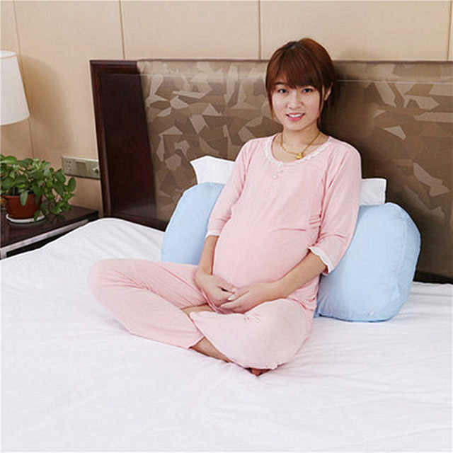 Simple Cloud Printed Pregnant Pillow For Side Sleepers Maternal