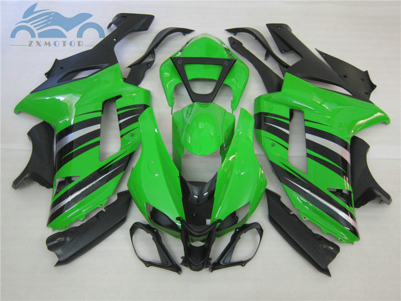 Personnaliser votre kit de carénages pour KAWASAKI Ninja ZX 6R 2007 2008 kits de carénage ABS complet ZX6R ZX636 07 08 pièces de réparation de carrosserie de moto