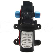 High Pressure Diaphragm Water Pump DC 12V 80W Self Priming Diaphragm Water Pump 5.5L/min For RV Boat