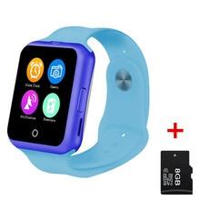 2016 D3 Bluetooth Reloj Inteligente para los niños chico chica Caliente de Apple soporte Teléfono Android SIM/TF Niños Del ritmo Cardíaco reloj de pulsera
