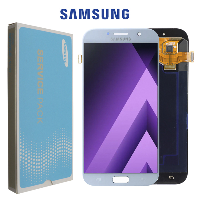 """Super Amoled 5.7"""" LCD For Samsung Galaxy A7 2017 A720 A720F Display Touch Screen Digitizer Assembly LCD for Galaxy A7 2017 Duos"""
