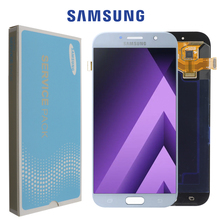 """Super Amoled 5.7 """"Lcd Voor Samsung Galaxy A7 2017 A720 A720F Display Touch Screen Digitizer Vergadering Lcd Voor Galaxy a7 2017 Duos"""