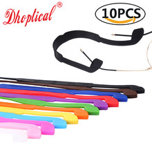 10pcs eyeglasses holder eyewear cord silicone material sport running ball colorf