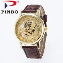 Esqueleto Relógios Homens De Quartzo-Relógio Famosa Marca Top de Luxo relógio de Pulso Relógio Masculino Negócio Relógio de Pulso de Quartzo Relogio masculino P4