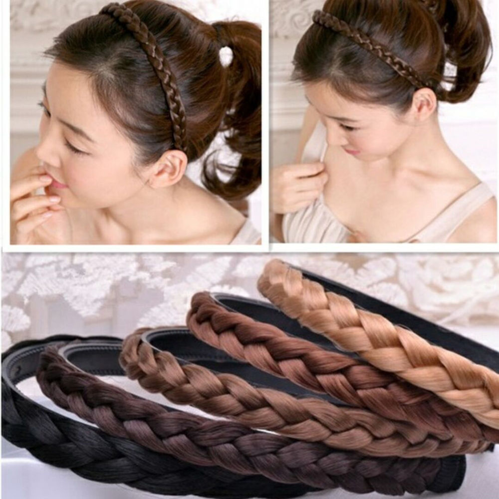 Fashion Summer Braid Women Girl Hair Head Hoop Bands Accessories For Women Turban Infant Headdress headbands Headwear Hairbands