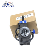 Super Performance Black Color KEIHIN Racing Carburetor PE28 28mm Fit Motorbike Moped Scooter Dirt Bike ATV