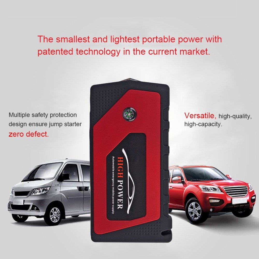General 12V 89800mah Multi-Function Car Charger Battery Jump Starter 4USB LED Light Auto Emergency Mobile Power Bank Tool Kit 4 usb car jump starter auto booster power bank 12v emergency battery charger multi function 3 led light with power adapter