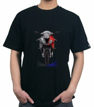 KODASKIN Motorcycle Style Short Sleeve 100% Cotton for S1000RR T Shirt