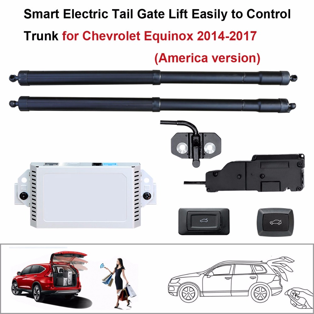 Auto  Electric Tail Gate Lift For Chevrolet Equinox 2014-2017 (America Version) Control By Remote