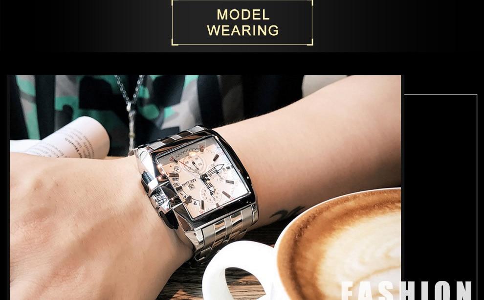 2018-En_17  MEGIR Males's Large Dial Luxurious Prime Model Quartz Wristwatches Artistic Enterprise Stainless Metal Sports activities Watches Males Relogio Masculino HTB1pbq6ksIrBKNjSZK9q6ygoVXam