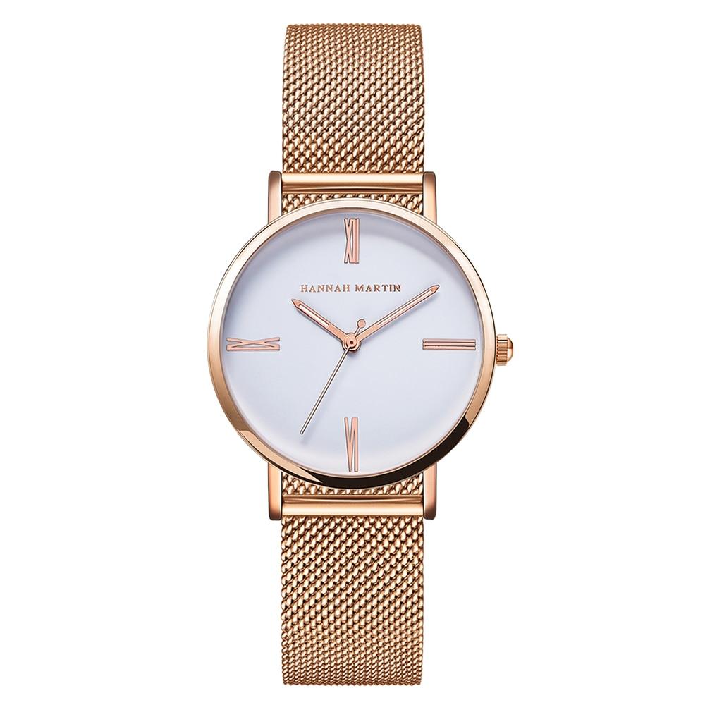 جديد هانا مارتن ماركة أزياء بسيطة - ساعات نسائية