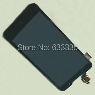 LCD Display Touch Screen Digitizer Assembly For HTC Desire 516 D516T D516W D516D front outer glass black