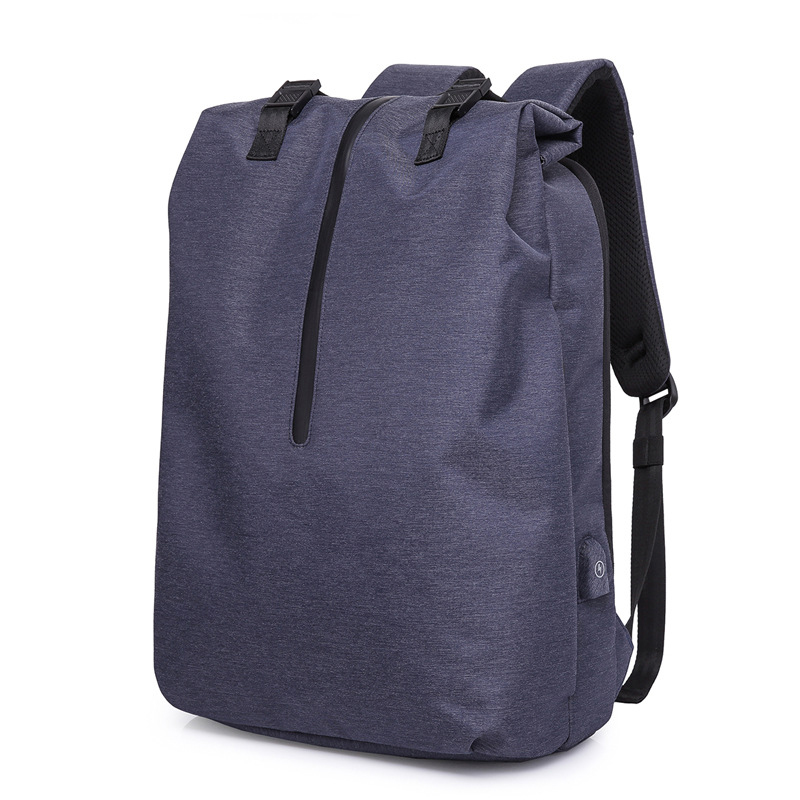 Backpack Male Leisure Bag Trend Simple Large-Capacity Computer Bag Travel Business BackpackBackpack Male Leisure Bag Trend Simple Large-Capacity Computer Bag Travel Business Backpack