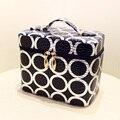 2017 New Korean Fashion Portable Waterproof Women Makeup Bag Make Up Storage Organizer Box Travel Pouch Beauty Case