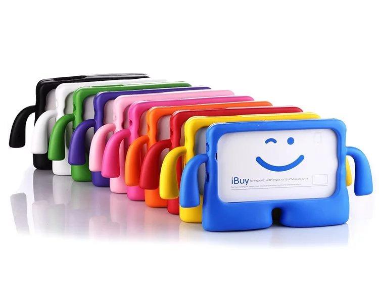 For Samsung Tab 3 Lite T110 T111 T113 T116 7.0 inch Case Tablet Cover Casegood for Kids Children EVA Solf Case+Screen Film+Gifts