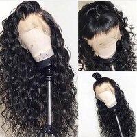 LUFFYHAIR малазийские свободные волнистые кружевные передние парики с детскими волосами натуральные волосы без клея Remy человеческие волосы па