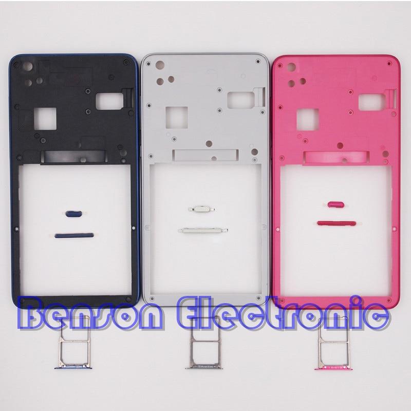 Цена за Baansam новый ближний рамка ближний case sim карты лоток слот для lenovo s850 s850t корпус case с питания кнопки громкости + антенна