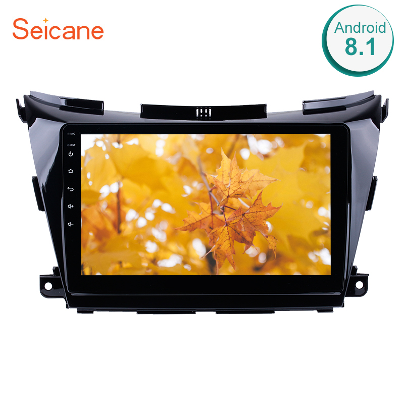 Seicane 10.1 Inch Android 8.1 GPS Car Multimedia Player Radio For Nissan Murano NAVARA NP300 Support Backup Camera Mirror LinkSeicane 10.1 Inch Android 8.1 GPS Car Multimedia Player Radio For Nissan Murano NAVARA NP300 Support Backup Camera Mirror Link