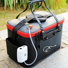 Fishing Rod Bag Multi Collapsible Fishing Case Bucket Lure Live Bait Backpack Waterproof Outdoor Fish Box Tackle Storage Bags