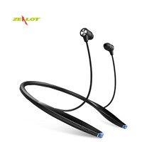 Zealot H7 Không Dây Tai Nghe Tai Nghe Neckband Bluetooth In-Ear Tai Tai Nghe Cho IPhone Nam Châm Tai Nghe 2 Trong 1 Với Microphone Mới