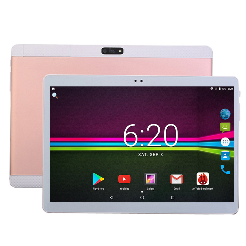 2019 New DHL Free 10 inch Tablet PC 3G 4G LTE Octa Core 4GB RAM 64GB ROM Dual SIM Cards Android 7.0 GPS Tablet PC 10 10.1 +Gifts(China)