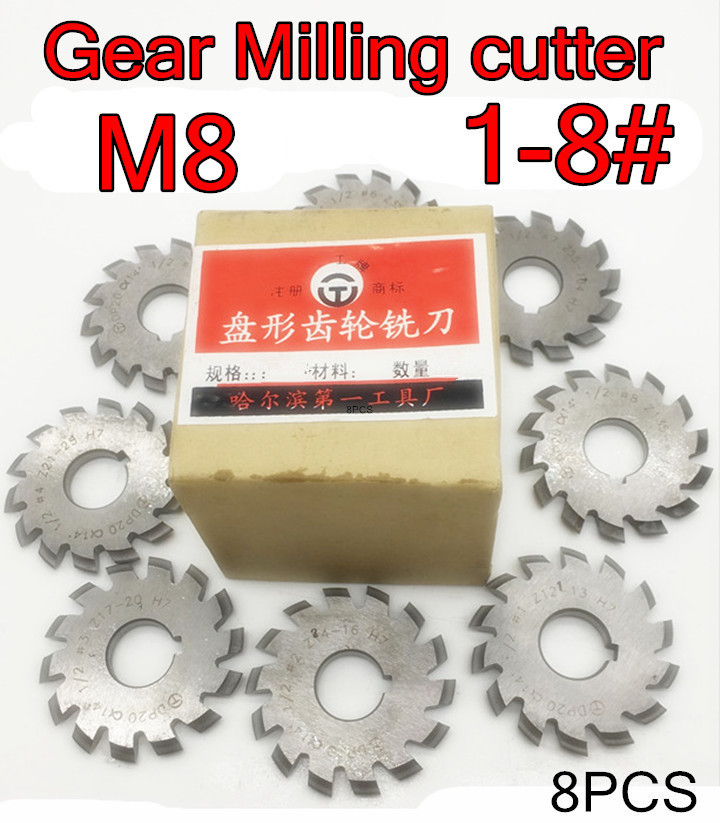 HSS Import Staggered Tooth Side Milling Cutter 5 DIA x 3//4 Face x 1 Hole x 22 Teeth