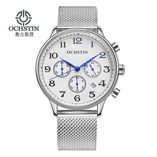 Reloj Hombre 2017 OCHSTIN Fashion Chronograph Sport Mens Watches Top Brand Luxury Military Quartz Watch Clock