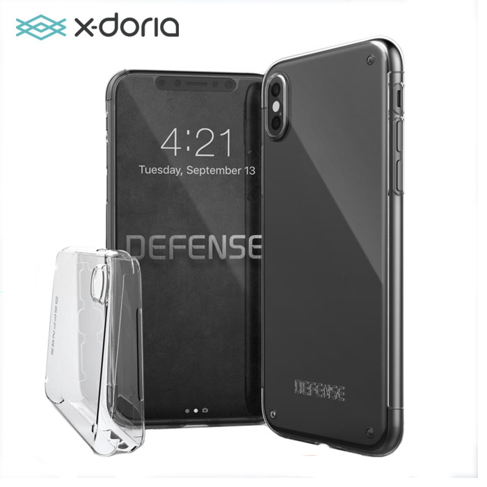 X-doria Defense 360 Case For Apple IPhone X 0.6mm Ultra Silime PC Shell + Full Coverage Protection Hard PC Case