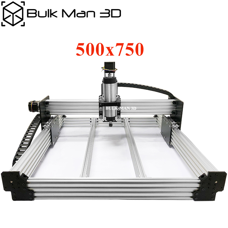 WorkBee CNC Router Machine Complete Kit 500x750mm 4Axis Woodworking CNC Engraving Milling Machine DIY CNC Metal